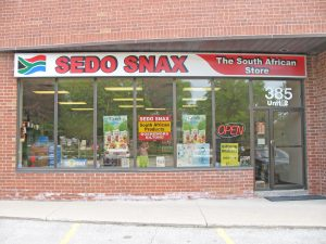 Sedo Snax Shop Front