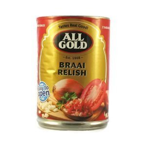 All Gold Braai Relish 410g can