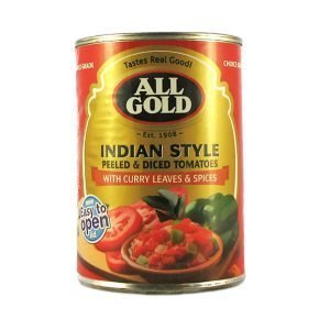 All Gold Tomatoes Diced Indian style 410g can