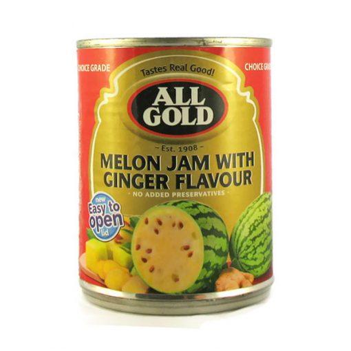 All Gold Jam Melon & Ginger 450g can