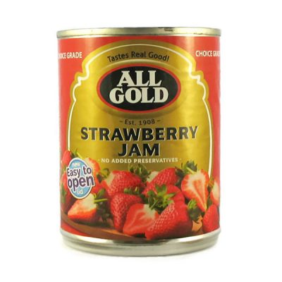 All Gold Jam Strawberry 450g can