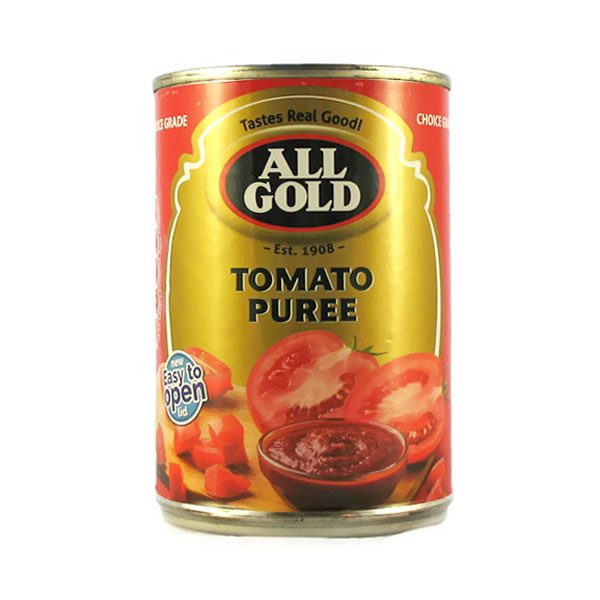 All Gold Tomato Puree 410g can