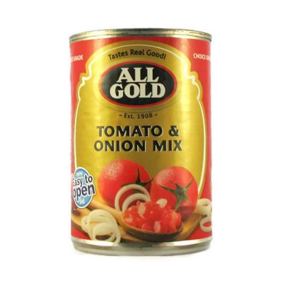 All Gold Tomato & Onion Mix 410g can