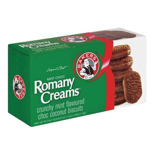 Bakers Romany Creams - Mint Choc