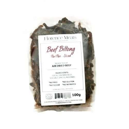 Beef Biltong Peri Peri Sliced 100g