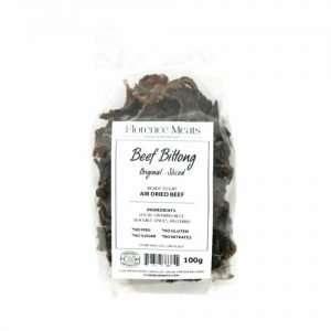 Beef Biltong Original Sliced 100g