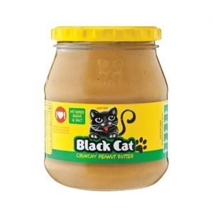 Black Cat Peanut Butter Crunchy NAS