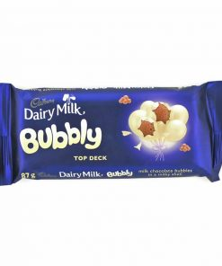 Cadbury Bubbly Top Deck 87g