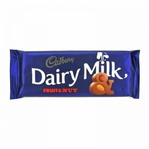 Cadbury Fruit and Nut 150g Bar
