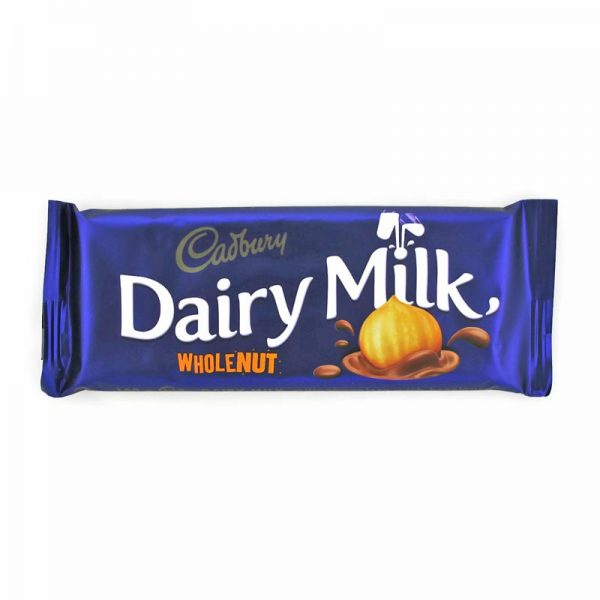 Cadbury Wholenut 150g Bar