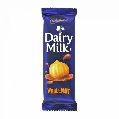Cadbury Wholenut 80g Bar
