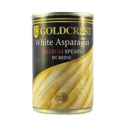 Goldcrest asparagus medium spears 410g