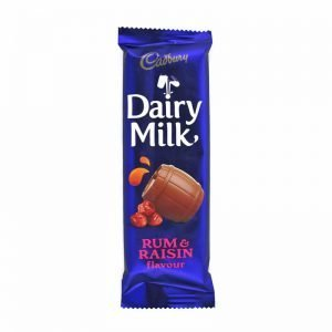 Cadbury Rum and Raisin 80g Bar
