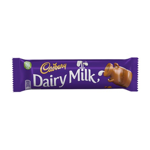Cadbury Dairy Milk 45g bar (eng)