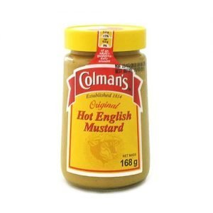 Colmans Hot English Mustard 168g jar