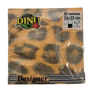 Dinu Designer Napkins Beauiful Africa 20 units