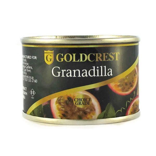 Goldcrest Granadilla Pulp 110g can