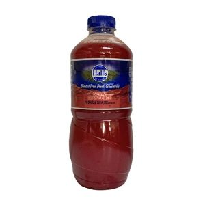 Hall's Concentrate Guava 1 litre bottle