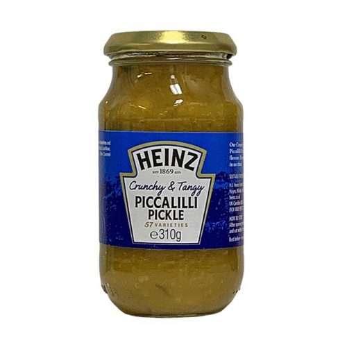 Heinz Crunchy & Tangy Piccalilli Pickle 310g jar