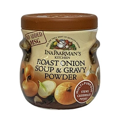 Ina Paarman Stock Powder Roast onion Soup & Gravy Powder 150g tin