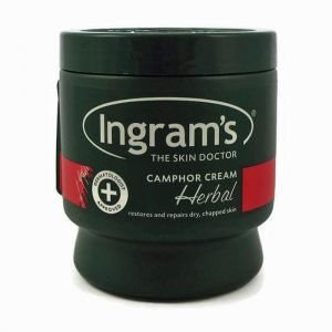 Ingrams Camphor Cream Herbal 500ml tub