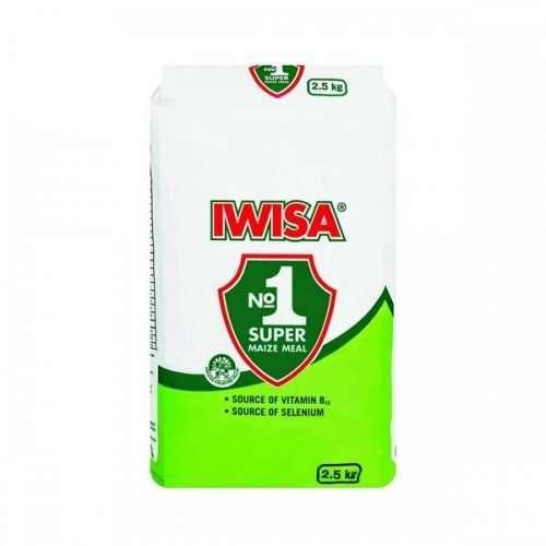 Iwisa Braai-Pap 2.5kg Bag