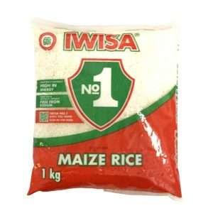 Iwisa Maize Rice 1kg bag
