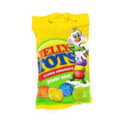 Wilson Jelly Tots Power Sour 100g Bag