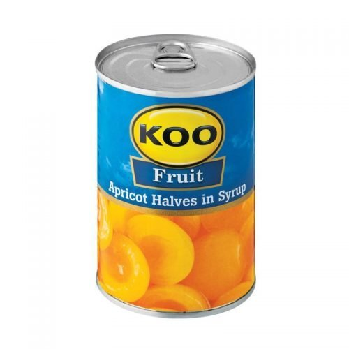 KOO Canned Fruit Apricot Halves 410g can