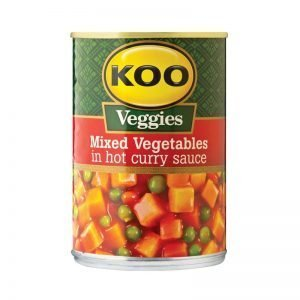 KOO Vegetable Curry Hot 420g can