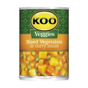 KOO Mixed Vegetables in curry sauce