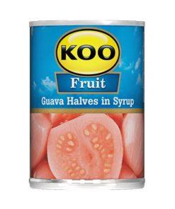 KOO Canned Fruit Guava Halves 825g