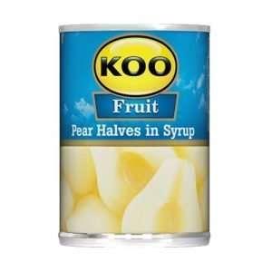 KOO Canned Fruit Pear Halves 410g