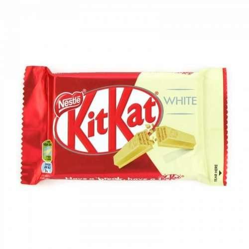 Nestle KitKat 4 Finger White 45g Bar