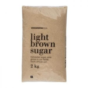 Woolworths Brown Sugar 2kg bag