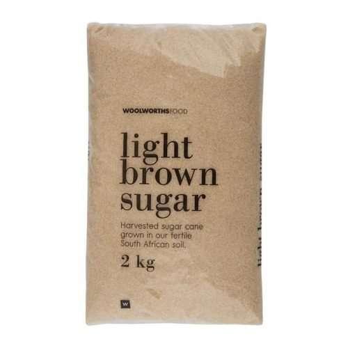 Woolworths Brown Sugar 2kg bag