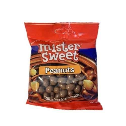 Mr Sweet Chocolate Coated Peanuts 100g bag