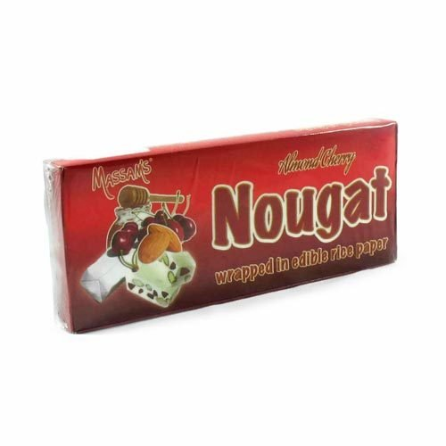 Massam's Nougat Almond Cherry 6pk