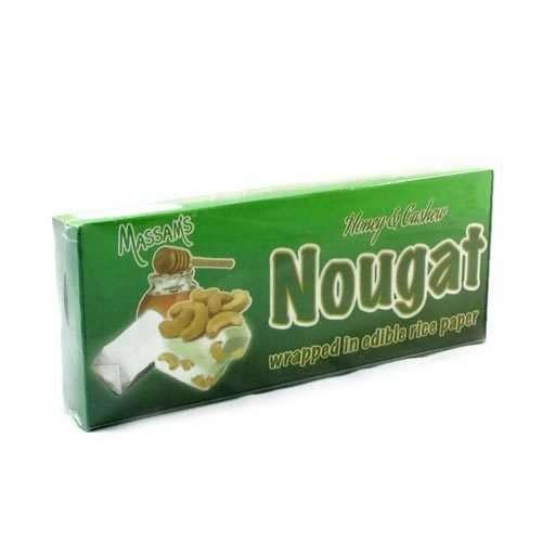 Massam's Nougat Honey & Cashew 6pk