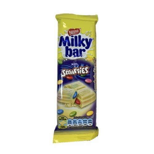 Nestle Milky Bar with Smarties 42g bar