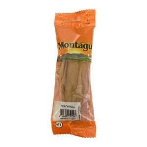 Montagu Peach Roll 80g