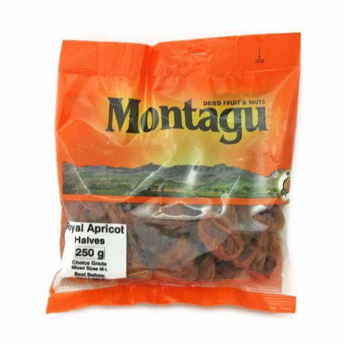 Montagu Royal Apricot Halves 250g