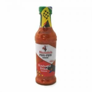 Nando's Peri Peri Bushveld Braai 250ml bottle