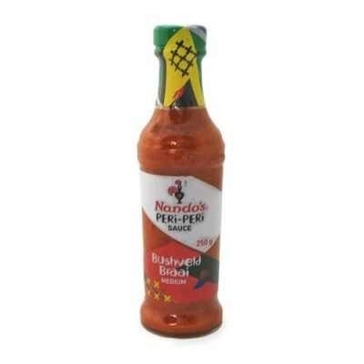 Nando's Peri Peri Bushveld Braai 250ml bottle