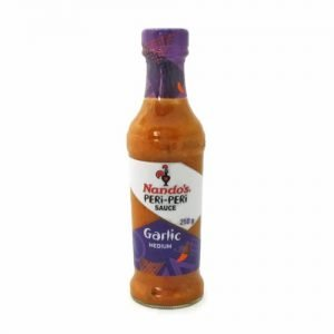 Nando's Peri Peri Garlic 250ml bottle