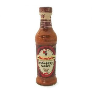 Nando's Peri Peri Extra Hot Sauce 250ml bottle