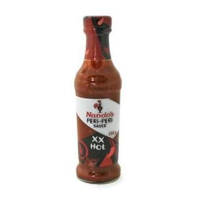 Nando's Peri Peri Extra Extra Hot 250ml bottle