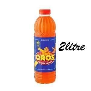 Brookes Oros Orange Squash 2 litre bottle