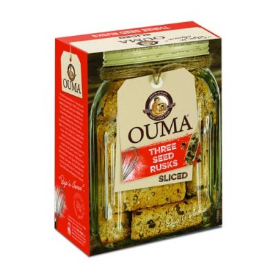 Ouma Three Seed Rusks Sliced