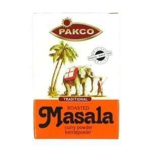 Pakco Roasted Masala Curry Powder 100g box